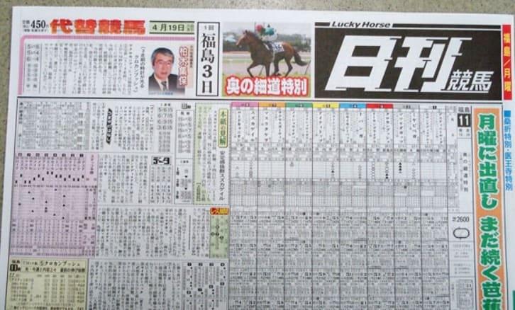 地方競馬 新聞
